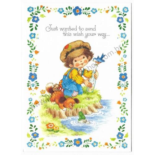 Notecard Antigo Importado Pam Peltier Sugar'n'Spice6G - Current