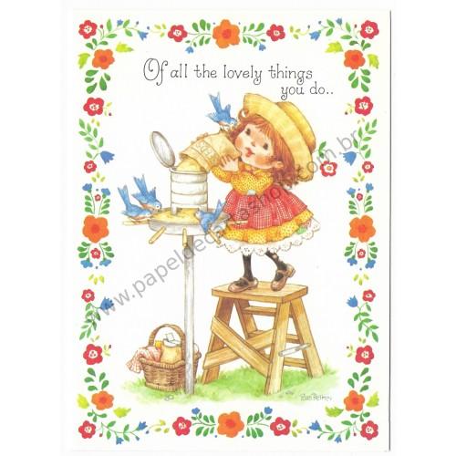 Notecard Antigo Importado Pam Peltier Sugar'n'Spice7G - Current