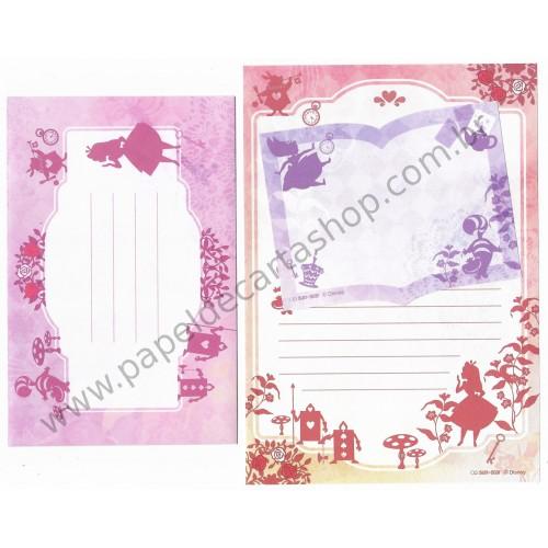 Conjunto de Papel de Carta Disney Alice Roses Sun-Star