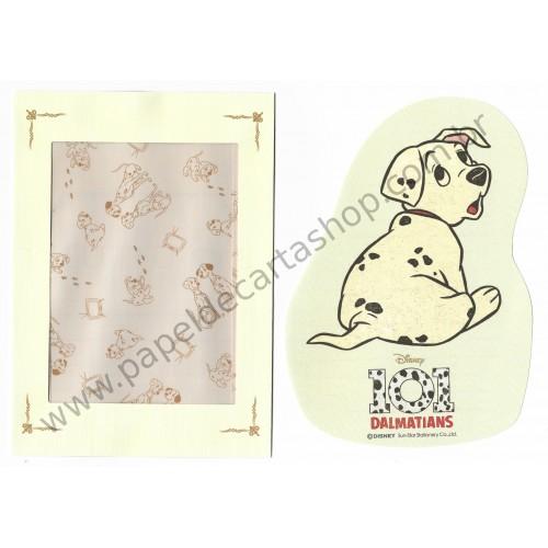 Conjunto de Papel de Carta Disney 101 Dalmatians P Sun-Star (CVD)