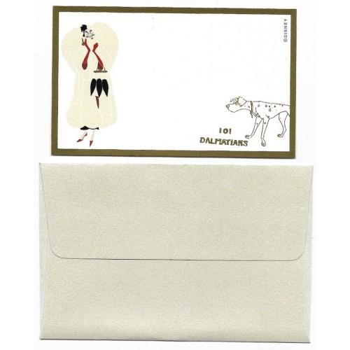 Conjunto de Mini-Cartão de Mensagem Disney 101 Dalmatians Japan