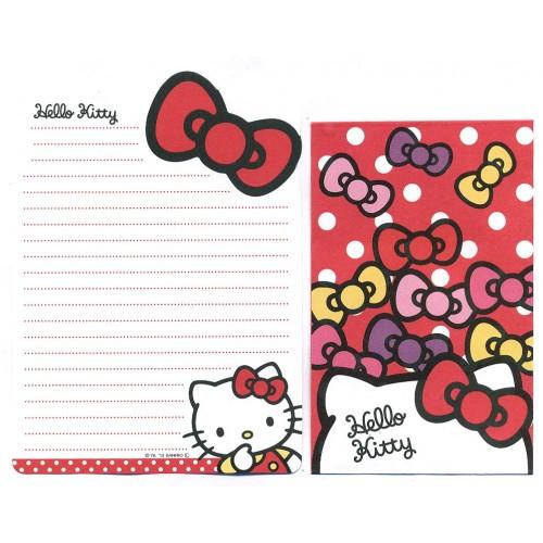Ano 2013. Conjunto de Mini-Papel de carta Hello Kitty DC2 Sanrio