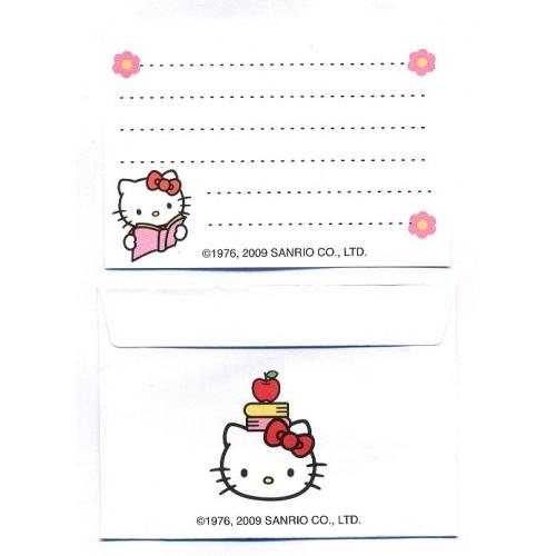 Ano 2009. Conjunto de Mini-Papel de Carta Hello Kitty CVD2 Sanrio