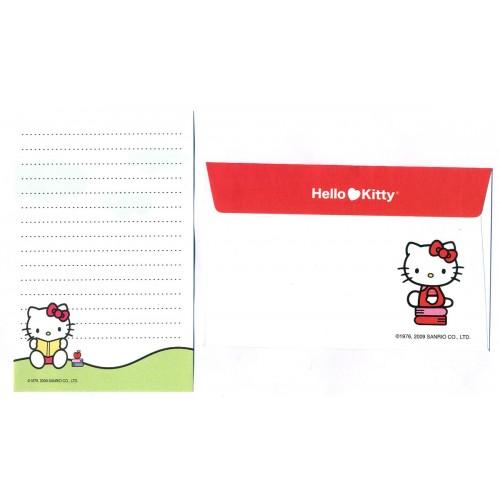 Ano 2009. Conjunto de Papel de Carta Hello Kitty Pequeno CBR Sanrio
