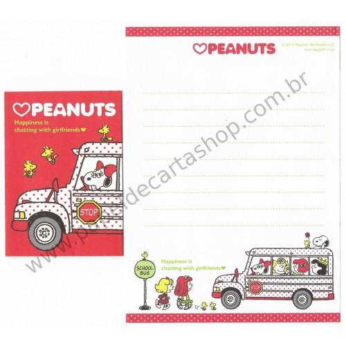 Kit 2 Conjuntos de Mini-Papel de Carta BELLE & Girlfriends Peanuts