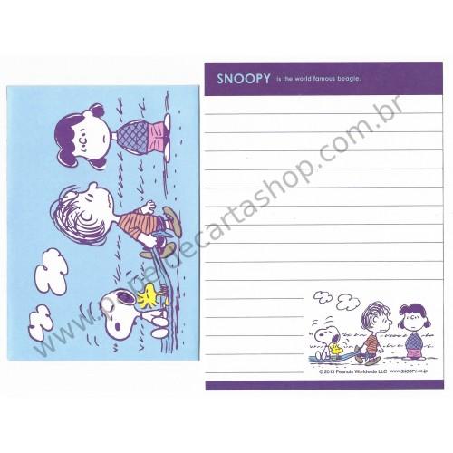 Conjunto de Mini-Papel de Carta SNOOPY CLL Peanuts