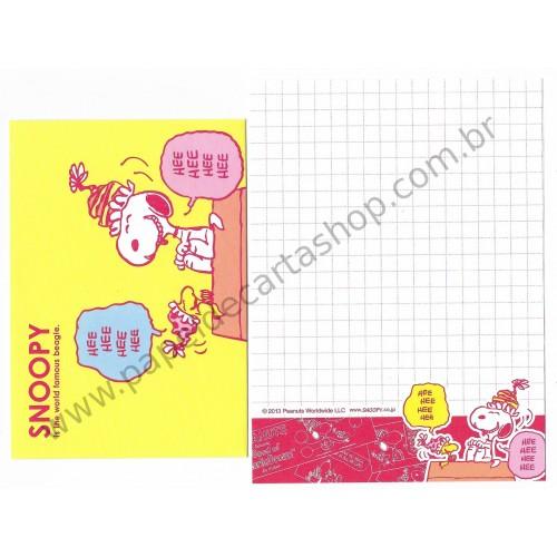 Conjunto de Mini-Papel de Carta SNOOPY CAM Peanuts