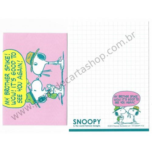 Conjunto de Mini-Papel de Carta SNOOPY CVD Peanuts