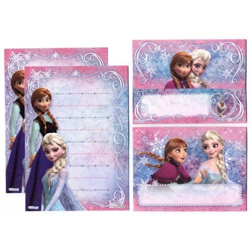 Conjunto de Papel de Carta Pequeno Frozen CRS Disney