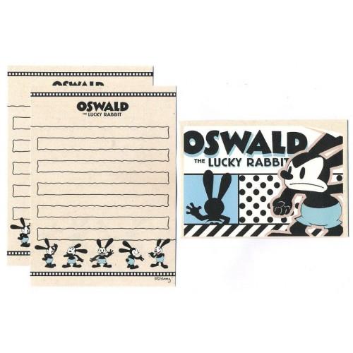 Conjunto de Mini-Papel de Carta Oswald CBR Disney
