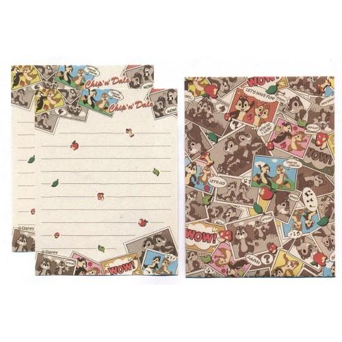 Conjunto de Mini Papel de Carta Disney Chip'n'Dale