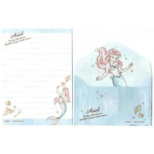 Kit 2 Conjuntos de Mini-Papéis de Carta Disney Ariel