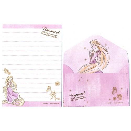 Kit 2 Conjuntos de Mini-Papéis de Carta Disney RAPUNZEL