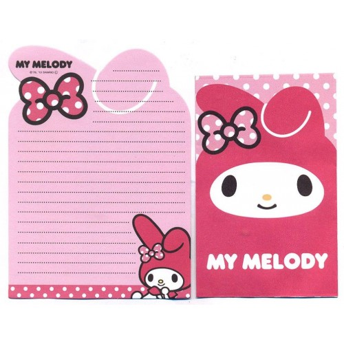 Ano 2013. Conjunto de MINI-Papel de Carta My Melody DC2 Sanrio