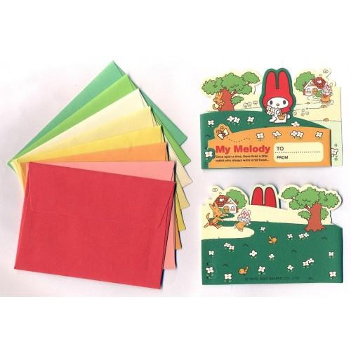 Ano 2007. Kit Mini-Cartão de Mensagem My Melody Sanrio