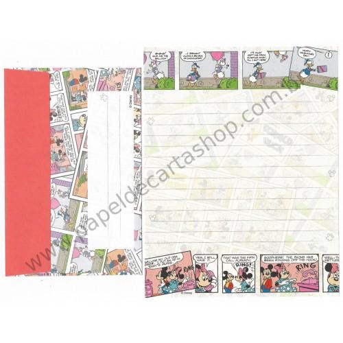 Conjunto de Papel de Carta Disney Characters Sun-Star