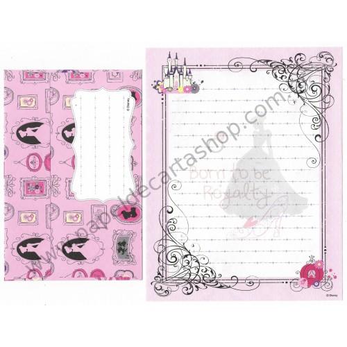 Conjunto de Papel de Carta Disney Alice Royalty Sun-Star