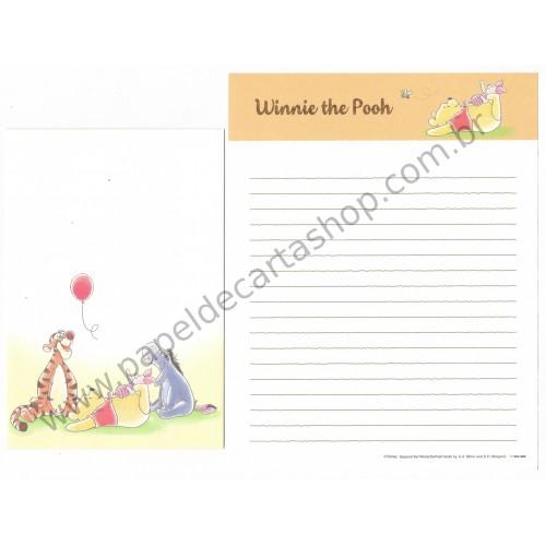 Conjunto de Papel de Carta Importado Disney Winnie The Pooh 1 (CLA)