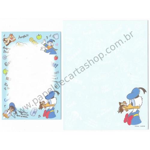 Conjunto de Papel de Carta Importado Disney Donald & Friends 1 (CAZ)