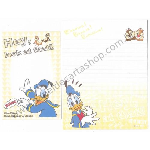 Conjunto de Papel de Carta Importado Disney Donald & Friends 1 (CLA)