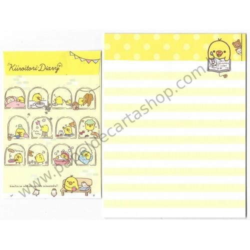 Kit 4 Conjuntos de Papel de Carta Küroitori Diary San-X