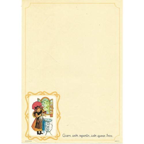 Papel de Carta July Pop E-10
