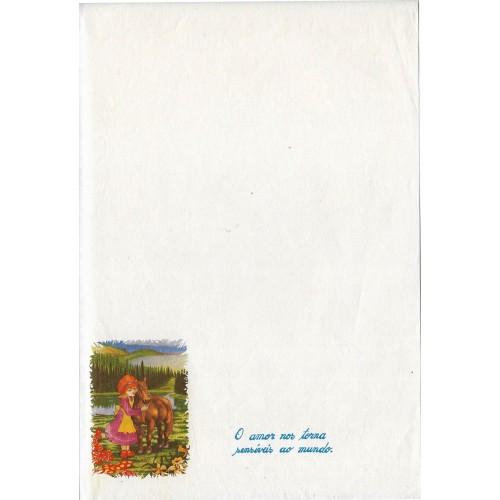 Papel de Carta ANTIGO Altair Gelatti Branco 02