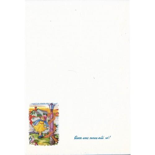Papel de Carta ANTIGO Altair Gelatti Branco 04
