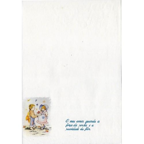 Papel de Carta ANTIGO Altair Gelatti Branco 09