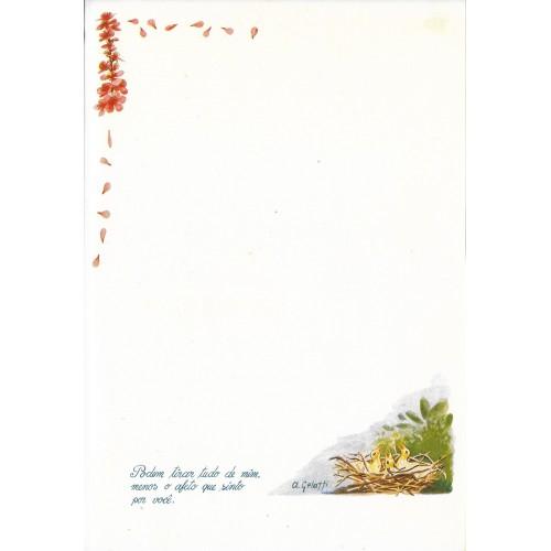 Papel de Carta ANTIGO Altair Gelatti Borda 05