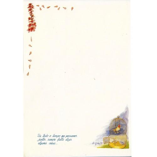 Papel de Carta ANTIGO Altair Gelatti Borda 06