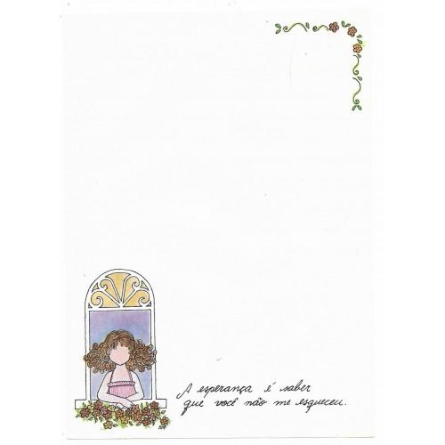 Papel de Carta Coleção BIA I06