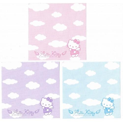 Ano 1998. Kit 3 Notas Hello Kitty Angel Vintage Sanrio