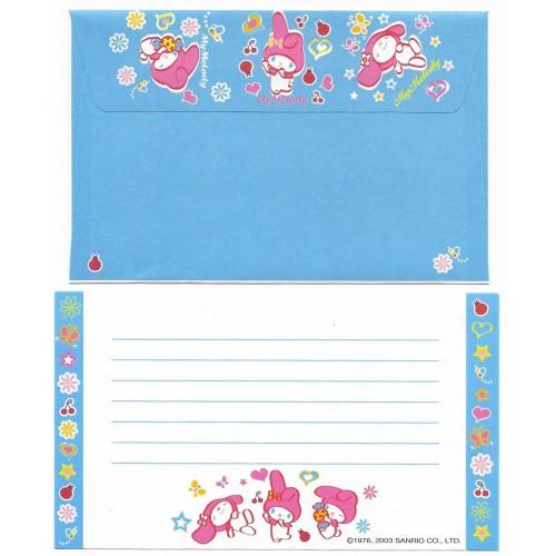 Ano 2003. Conjunto de Papel de Carta P My Melody CAZ Sanrio