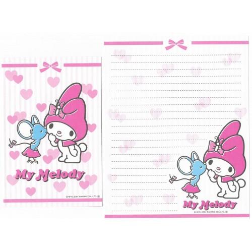 Ano 2004. Kit 8 Conjuntos de Papel de Carta My Melody Sanrio