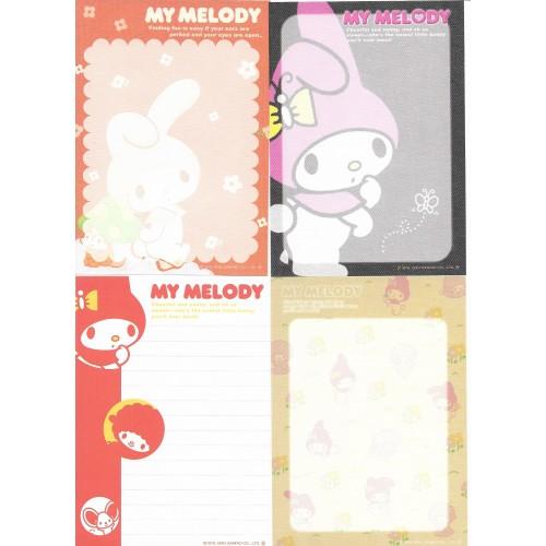 Ano 2004. Kit Coleção 8 NOTAS My Melody Sanrio