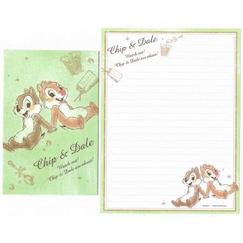 Conjunto de Papel de Carta Disney Chip'n Dale