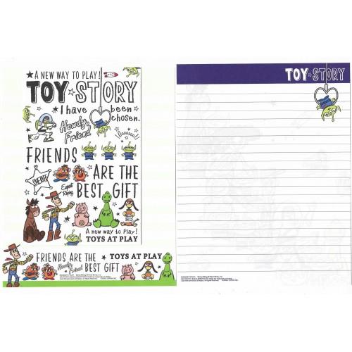Kit 2 Conjuntos de Papel de Carta Disney/Pixar Toy Story At Play