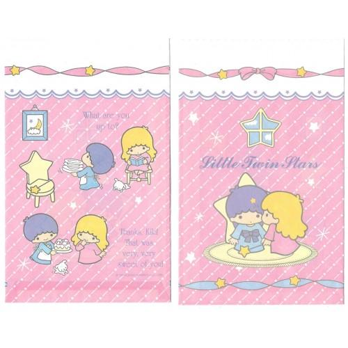 Ano 2003. Saco de Papel Little Twin Stars Dupla Sanrio