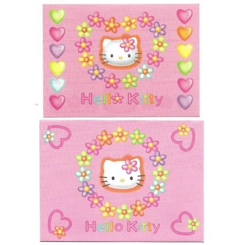 Ano 1997. Conjunto de Mini Papel de Carta Hello Kitty Vintage Sanrio