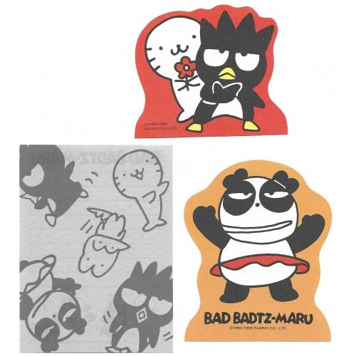 Ano 1996. Kit 3 NOTAS Bad BADTZ-MARU - Sanrio