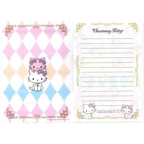 Ano 2006. KIT 2 Notas Charmmy Kitty VEG Sanrio