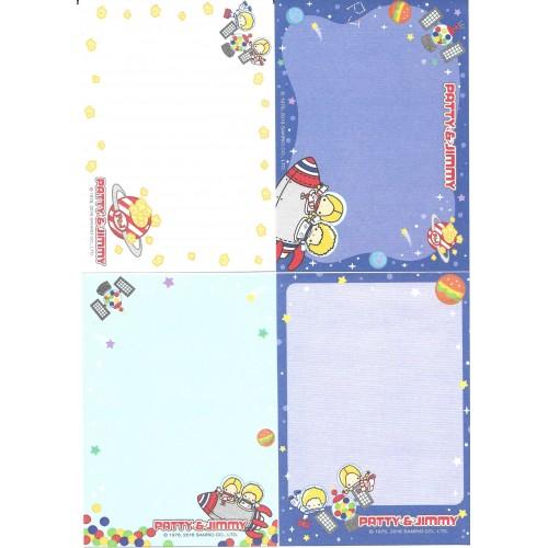 Ano 2016. Kit 4 Notas Sanrio Characters Patty & Jimmy Sanrio