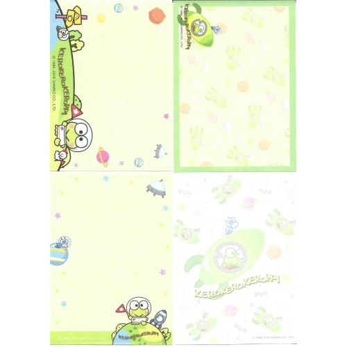 Ano 2016. Kit 4 Notas Sanrio Characters KeroKeroKeroppi Sanrio