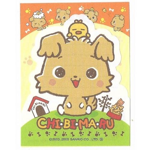Ano 2005. Kit 2 MEMOS Chibimaru Sanrio