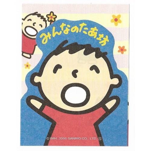 Ano 2005. Kit 2 MEMOS Mina No Tabo Sanrio