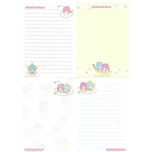 Ano 2002. Kit 4 Notas Little Twin Stars Sanrio