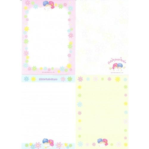 Ano 1998. Kit 4 Notas Little Twin Stars Sanrio