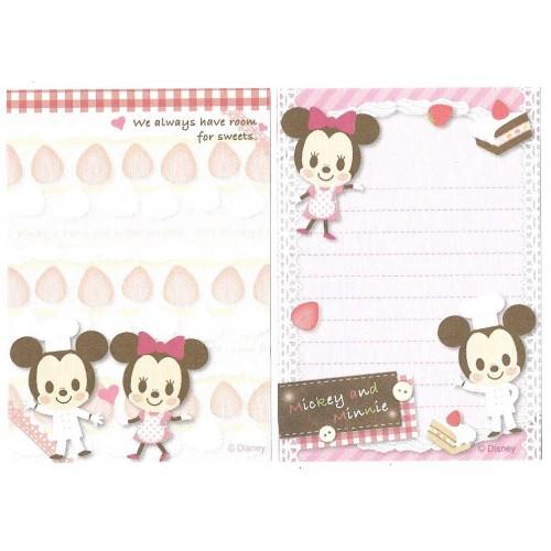 Kit 2 MEMOS Importados Mickey & Minnie Disney Sun-Star
