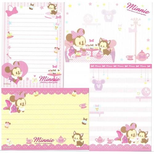 Kit 4 NOTAS Minnie Disney Sun-Star